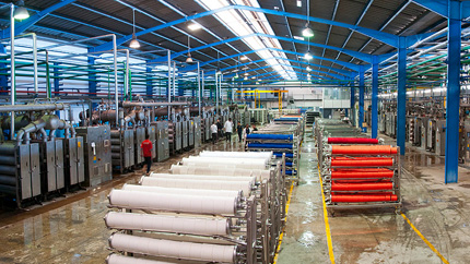 Usine de Soft Group Le textile de A à Z