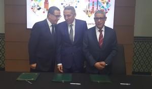 Chimie signature du contrat programme entre le ministère de l'industrie marocaine et la fédération de la chimie et de la parachimie
