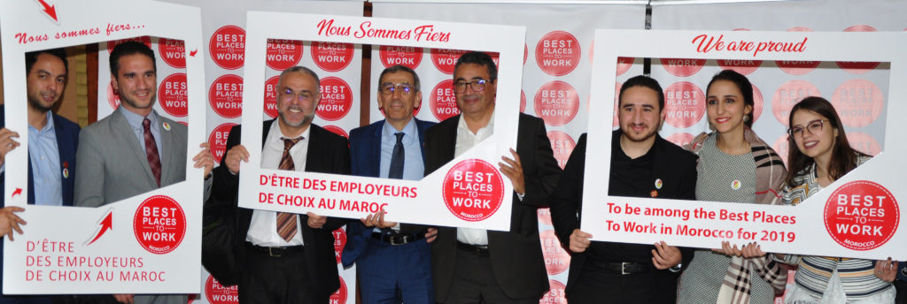 Best places to work 2019 Maroc