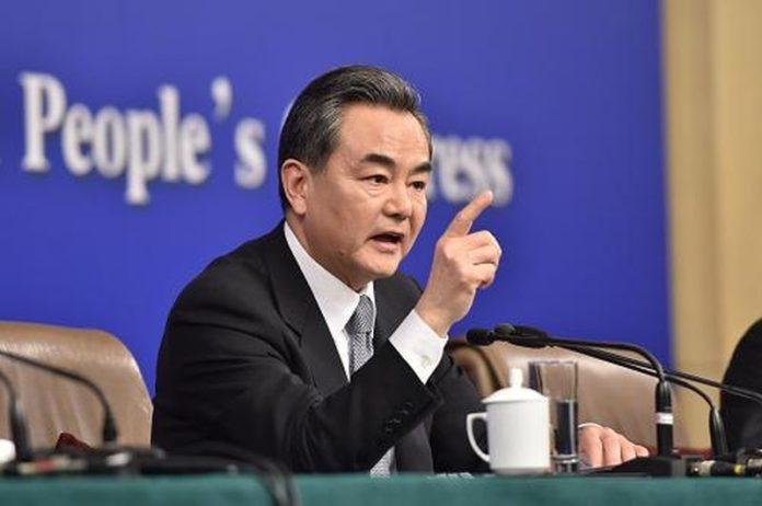 Huawei/Trump Wang Yi