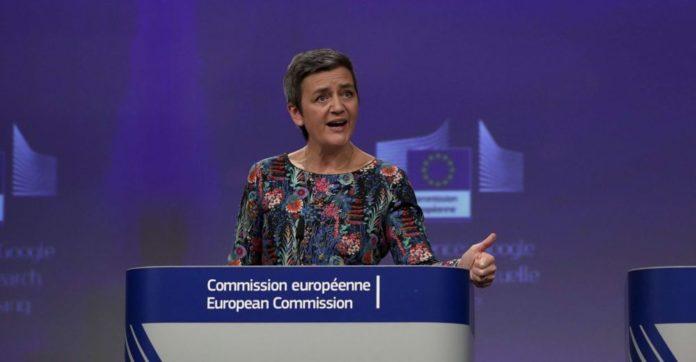 Acier Margrethe Vestager UE