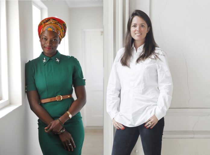 Amandine Lepoutre et Chidiogo Akunyili