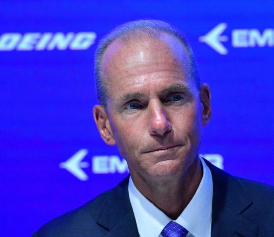 Boeing Dennis Muilenburg