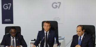 Sommet du G7 Biarritz Macron