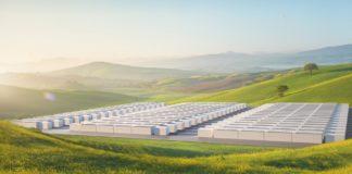 Tesla Megapack Batterie