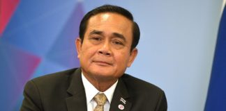 Thaïlande Prayut Chan-O-Cha