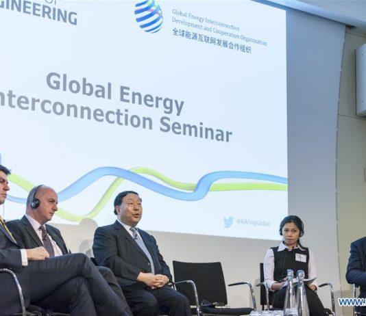 Energie interconnexion energétique GEIDCO