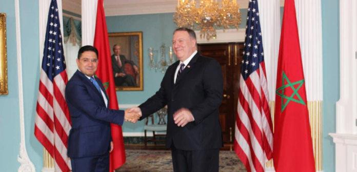 Nasser Bourita et Mike Pompeo