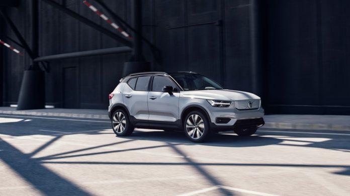 Volvo 100% électrique XC40 Recharge