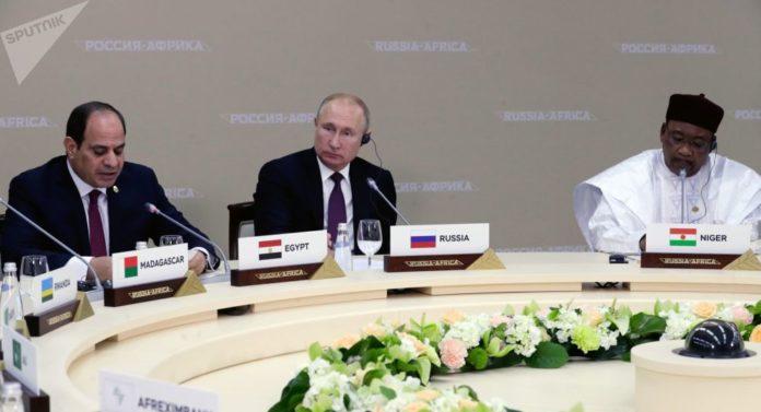 accord pour la construction d'un complexe pétrochimique Sotchi Forum économique Russie-Afrique.