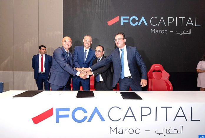 Lancement du financement exclusif FCA Capital Maroc