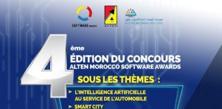 Alten Morocco Software Awards 2019