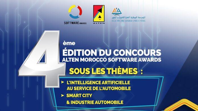 Alten Morocco Software Awards 2019