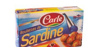 Aveiro CARLE Boulettes sardines