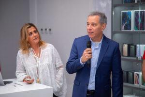 Lucie Sidawi - Directrice d'iSTYLE Moyen-Orient et Afrique. Jacques Tachdjian - Directeur Afrique du Midis Group. jpg
