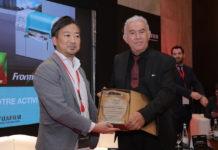 Mohammed Mokhtari, PDG Arphot, et Masato Yamamoto, DGA Fujifilm France S.A.S
