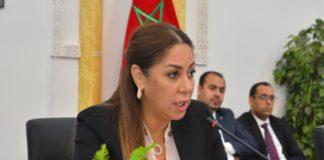 Nouzha BOUCHAREB, Ministre de l'Aménagement du Territoire National, de l'Urbanisme, de l'Habitat, et de la Politique de la Ville