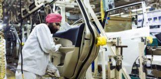Production industrielle Inde