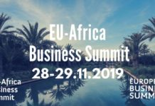 Visuel EU AFRICA BUSINESS SUMMIT 28 et 29 novembre 2019