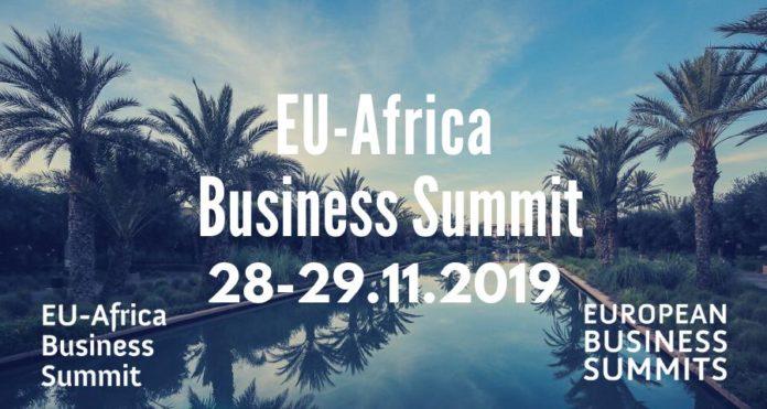 Visuel EU AFRICA BUSINESS SUMMIT 28 et 29 novembre 2019