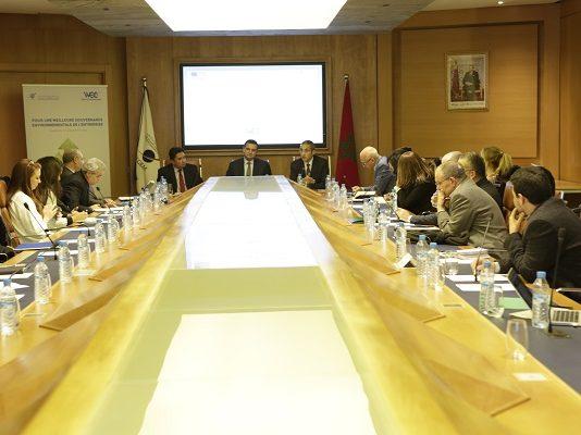 La CGEM et le WEC présentent un projet sur la gouvernance environnementale