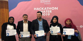 Trois projets primés au Hackathon Water 2019