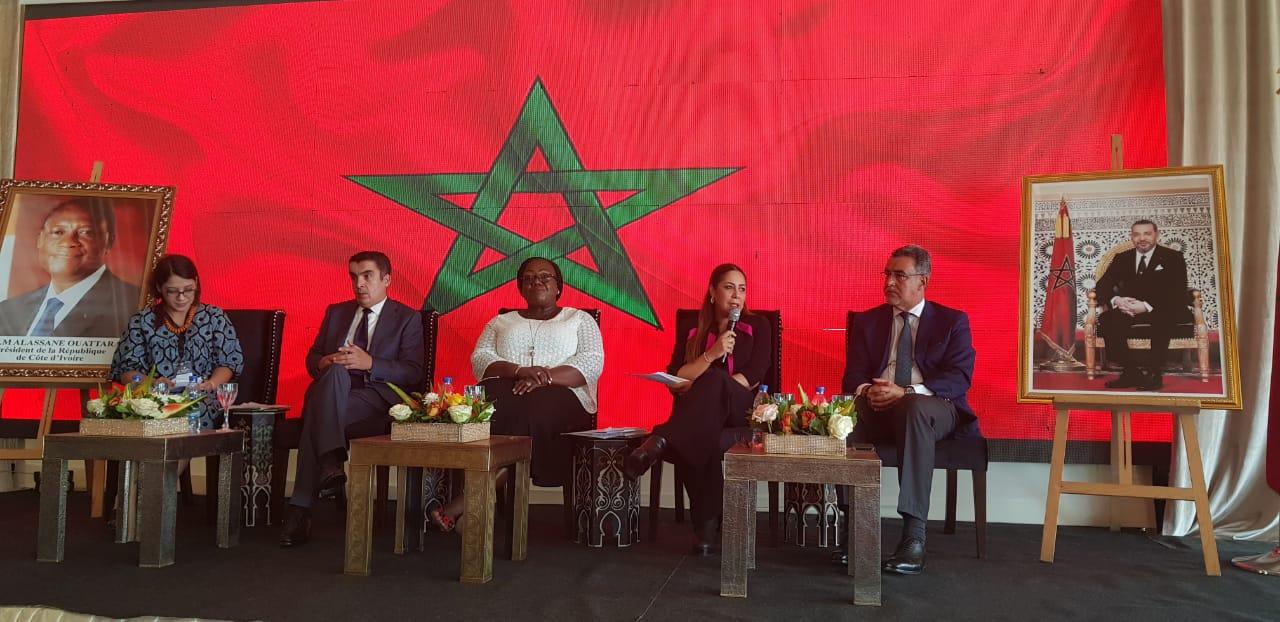 Nouzha BOUCHAREB participe à la deuxième édition du Village du Maroc à Abidjan