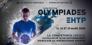 Les Olympiades de l'école Hassania se tiendront les 13, 14 et 15 mars 2020